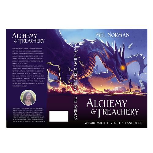 Alchemy & Treachery Book Cover