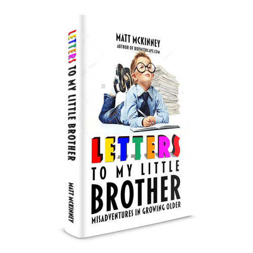 Fun design for an auto-biographical book