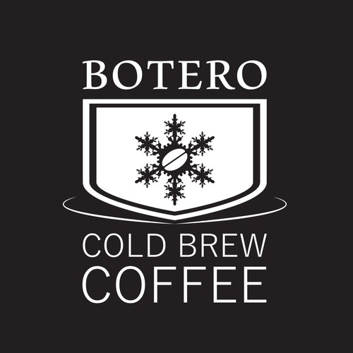 "Logo for ""BOTERO - Cold Brew Coffee"""