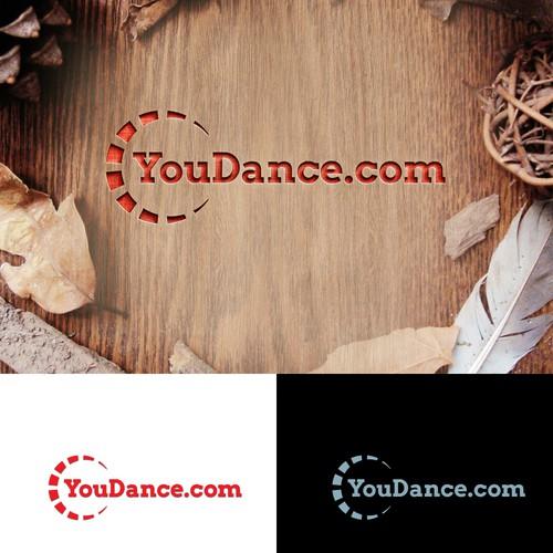 Design a simple clean dance logo.