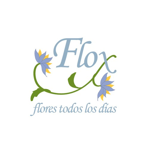 Logo for flower delivery