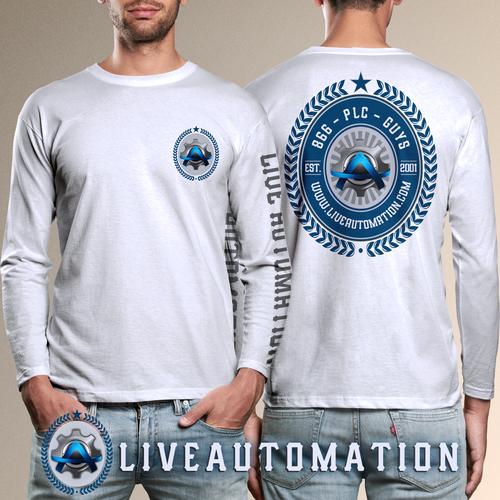 Live Automation Long Sleeve T-Shirt Design
