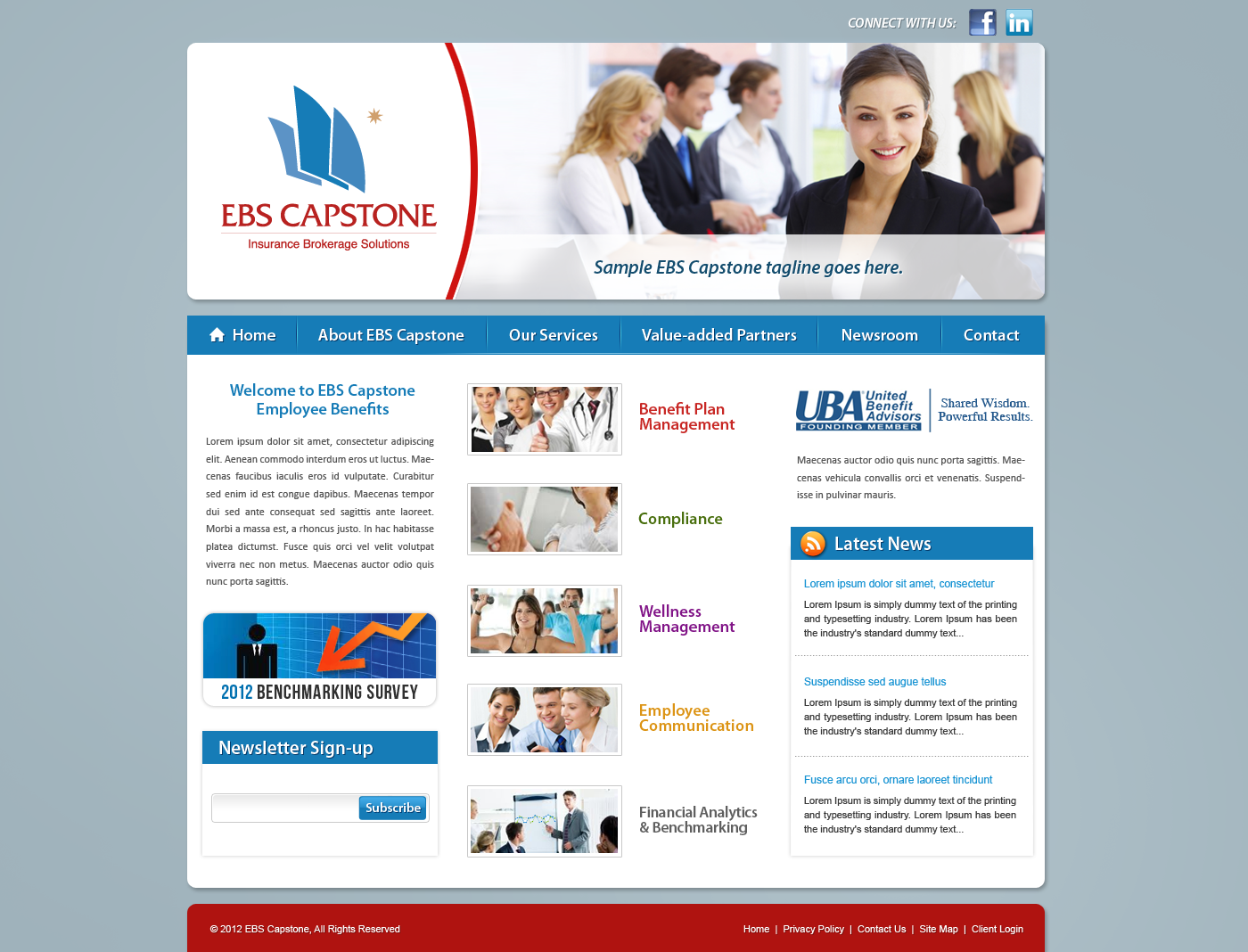 New look needed for our website
