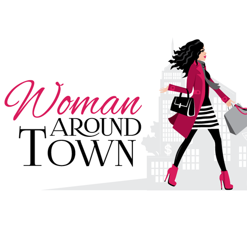 Woman Aroun Town