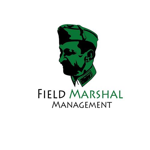 elegant mascot for Field Marshal Management