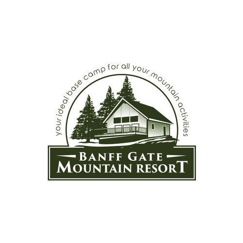 Logo for a Mountain Resort
