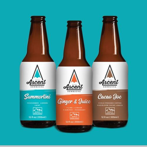 New kombucha brewery seeking label design