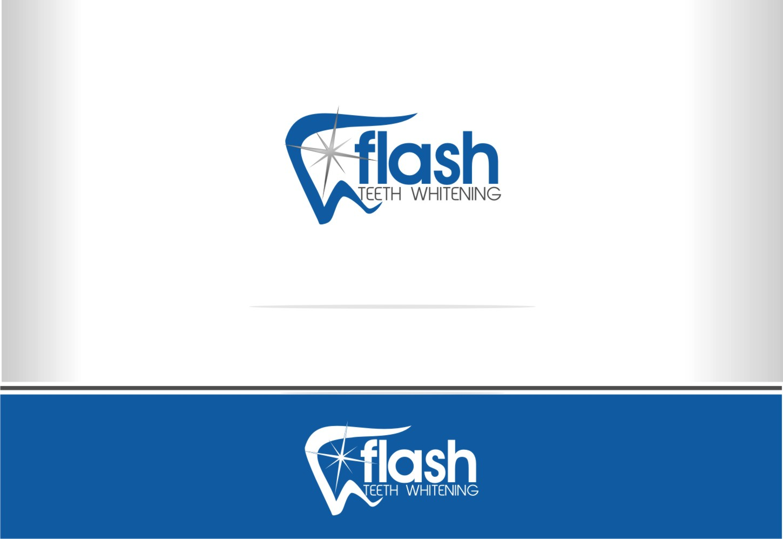 Create a winning logo for FLASH Teeth Whitening