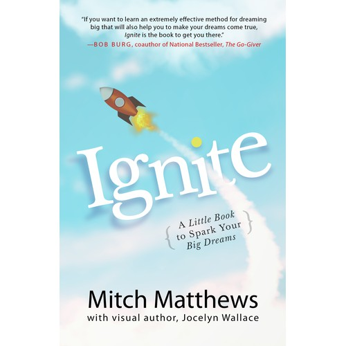 Book cover, Ignite