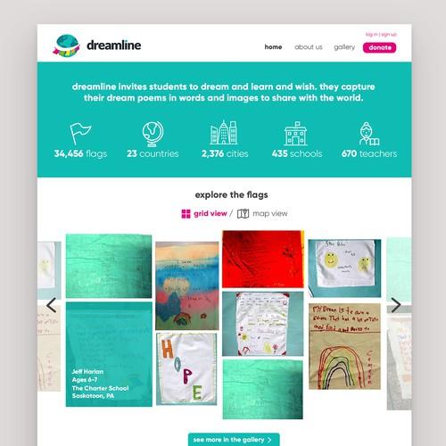 Dreamline UI Design