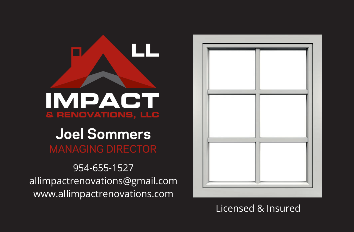 All Impact &  Renovations, LLC