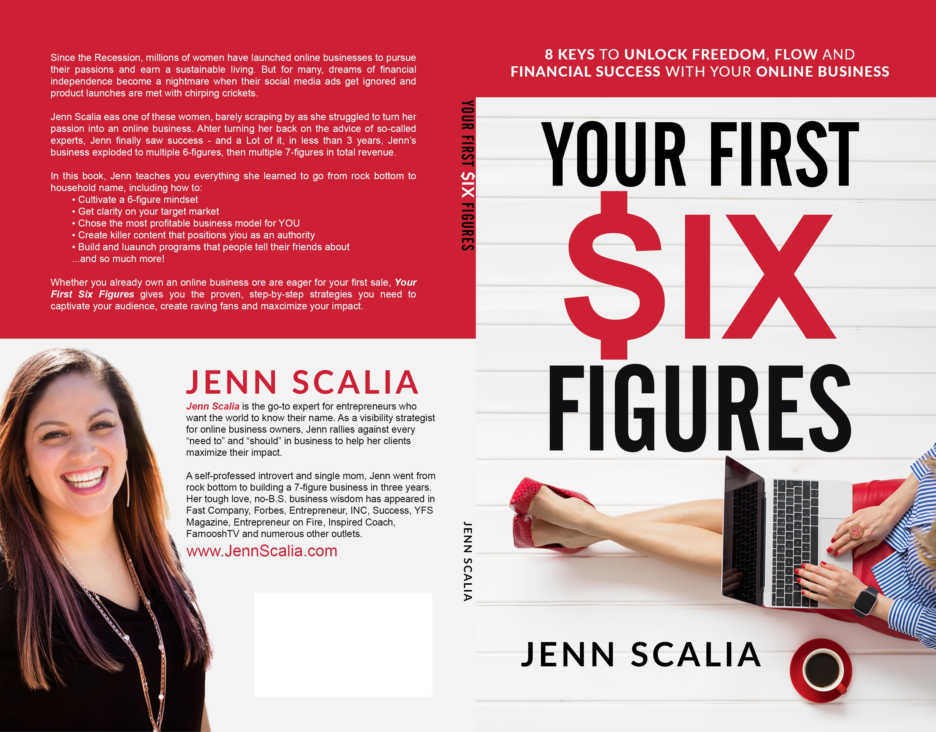 Design a Six Figure Book Cover