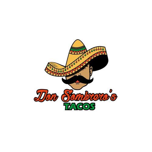 Don Sombrero takos logo