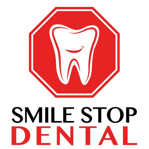 Create an attention-grabbing LOGO for SMILE STOP DENTAL, a rapidly growing dental practice
