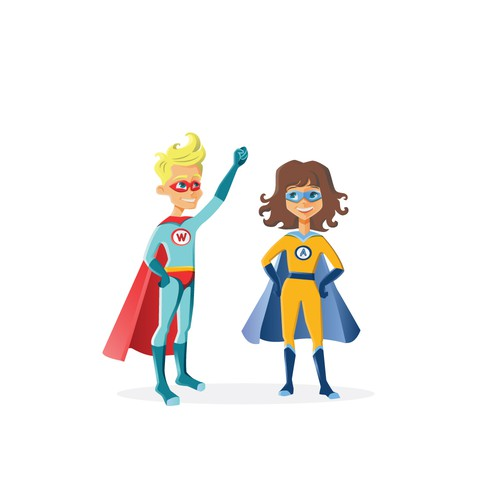 Create Cutest Superheroes
