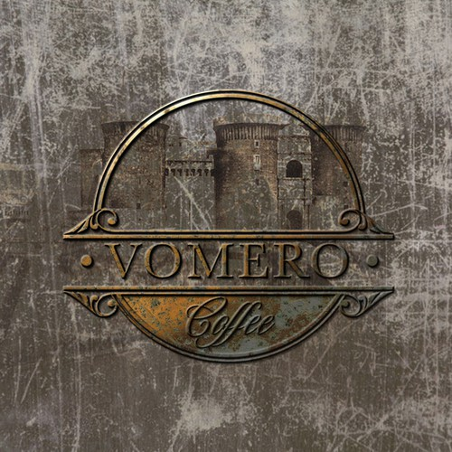 Creating a classic emblem for Italian coffee shop - Vomero Coffee.
