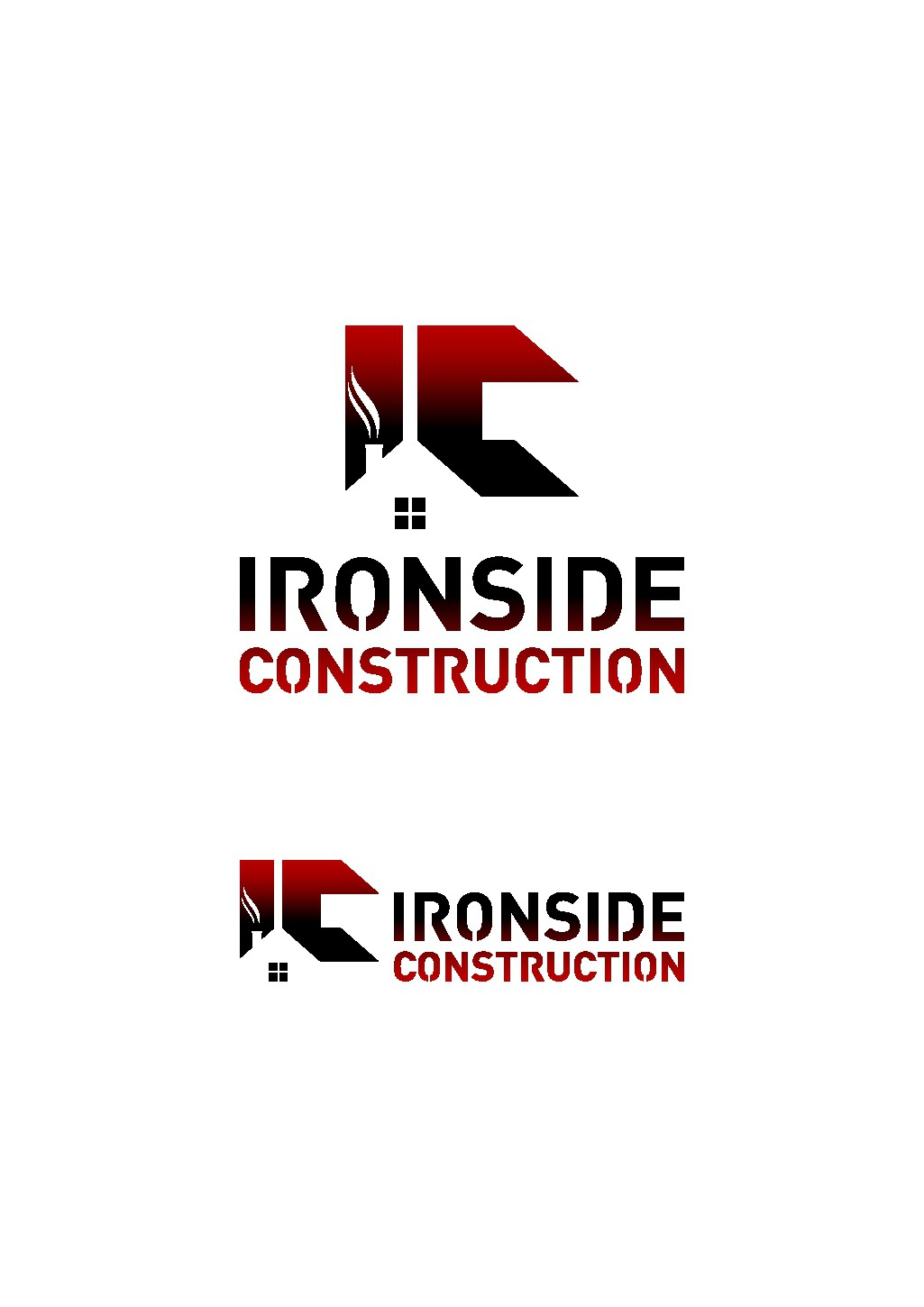 A northwest construction company looking for a sleek revamp of logo