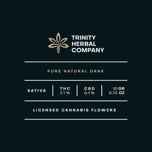 Trinity Herbal Co. | Package Design
