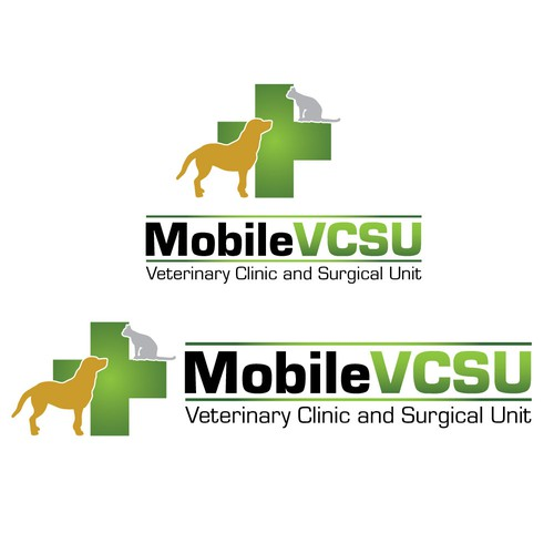 Easy $! Mobile Veterinary Clinic needs professional logo