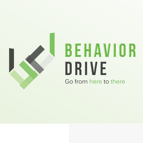 Create a simple and memorable logo as a cornerstone for branding Behavior Drive.