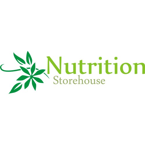 "Create a logo for an online health supplement store. The company is called ""Nutrition Storehouse"""