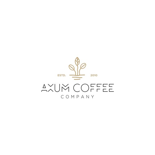 Create a logo and/or symbol for Axum Coffee Company