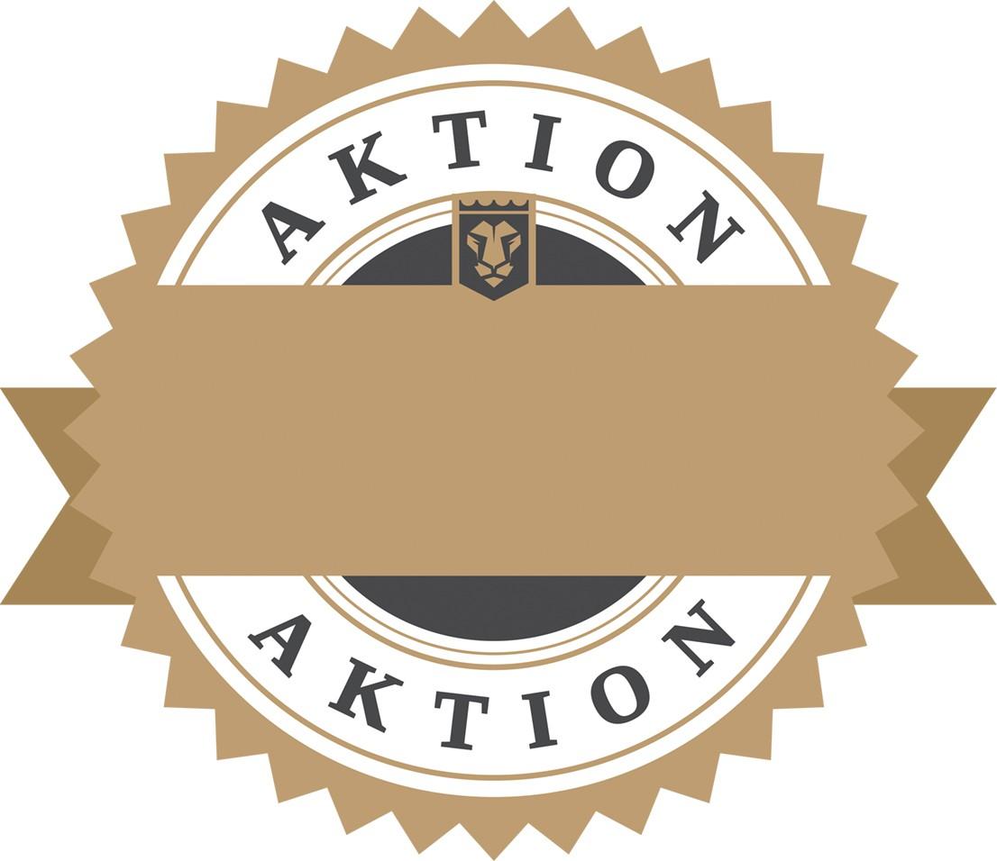 Aktionsstern/Aktionsschild im BB Ascon Stil