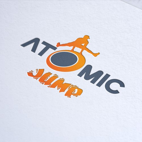 Logo & Jimdo Website for ATOMIC JUMP