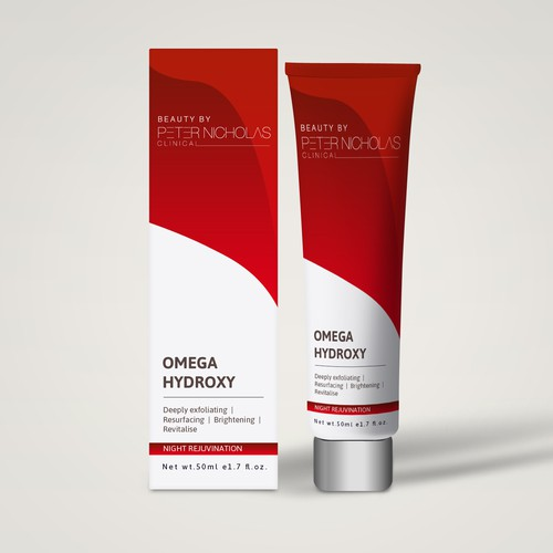 Cosmetic label design