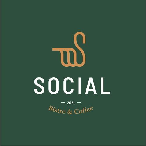 Social Bistro & Coffee - Brand Identity