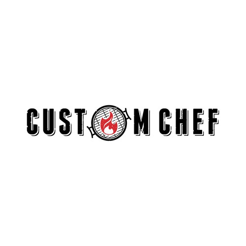 Custom Chef logo for new BBQ Tools Brand