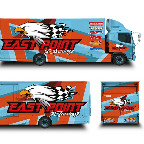 Racing Transport Graphics