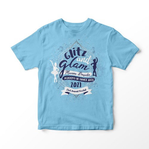Glamorous shirt design for girls.
