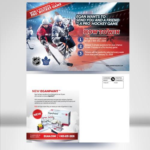 Ticket Pro Hokey Promo Postcard
