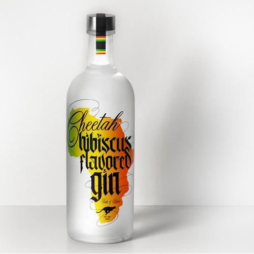 Hibiscus Gin
