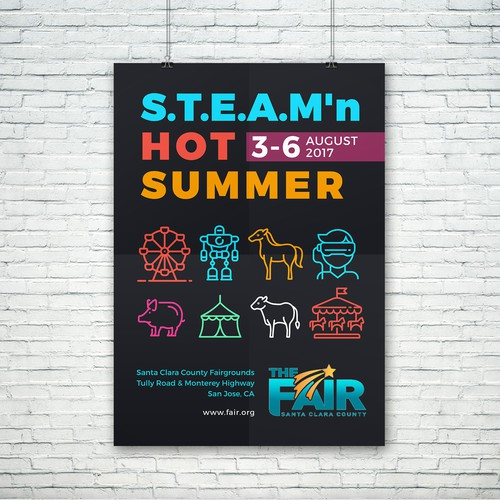 County Fair Poster