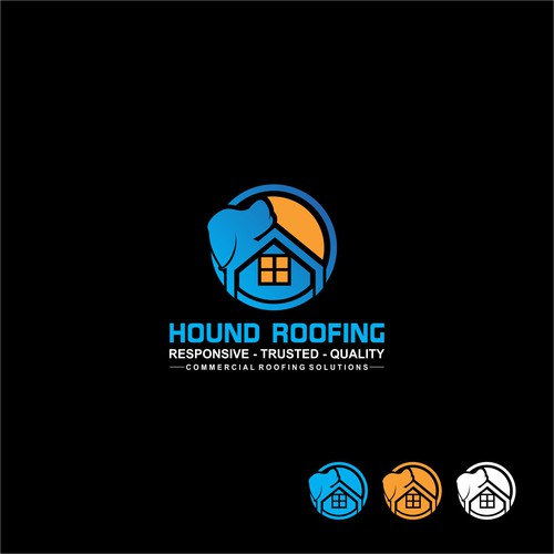 New roofing company needs a logo to shake up old school industry