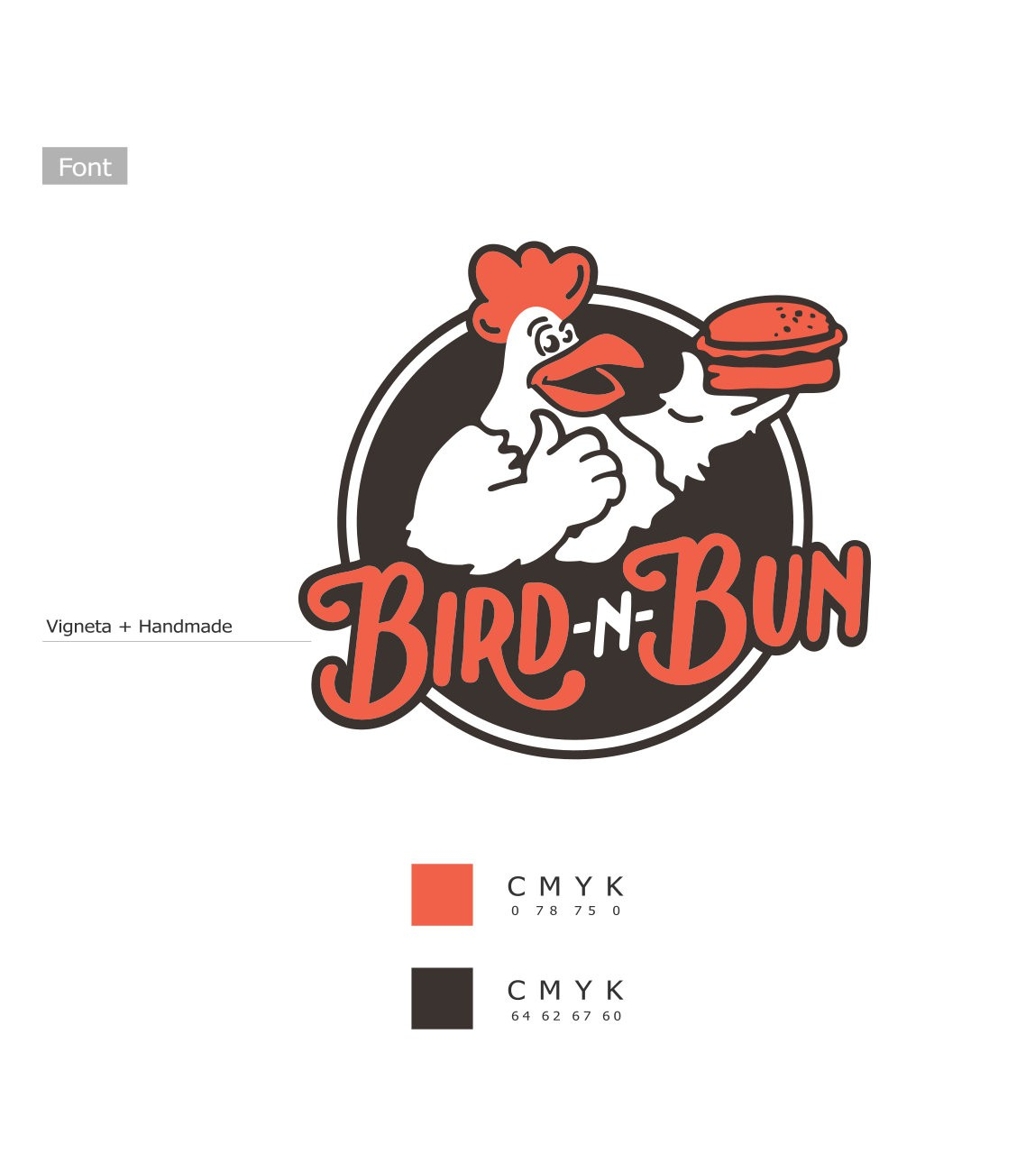 New logo to make fast food cool again! Launching a virtual/cloud kitchen brand.