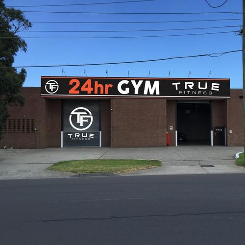 Gym branding