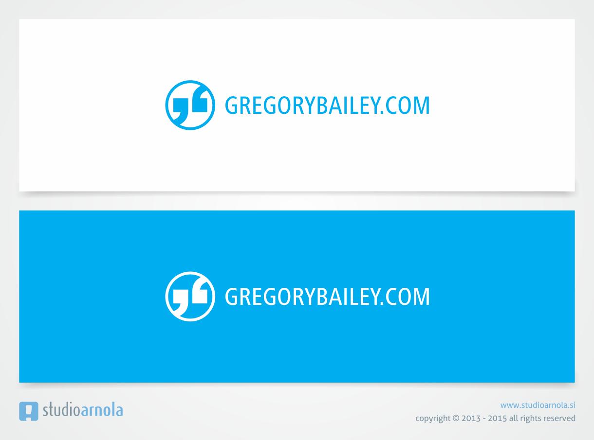 Create a capturing brand identity for GREGORYBAILEY.COM