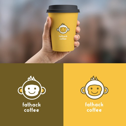 New fun logo for new coffee shop