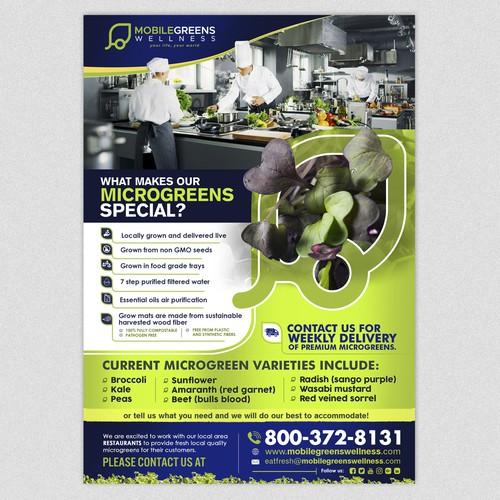 Magical Microgreens Flyer!