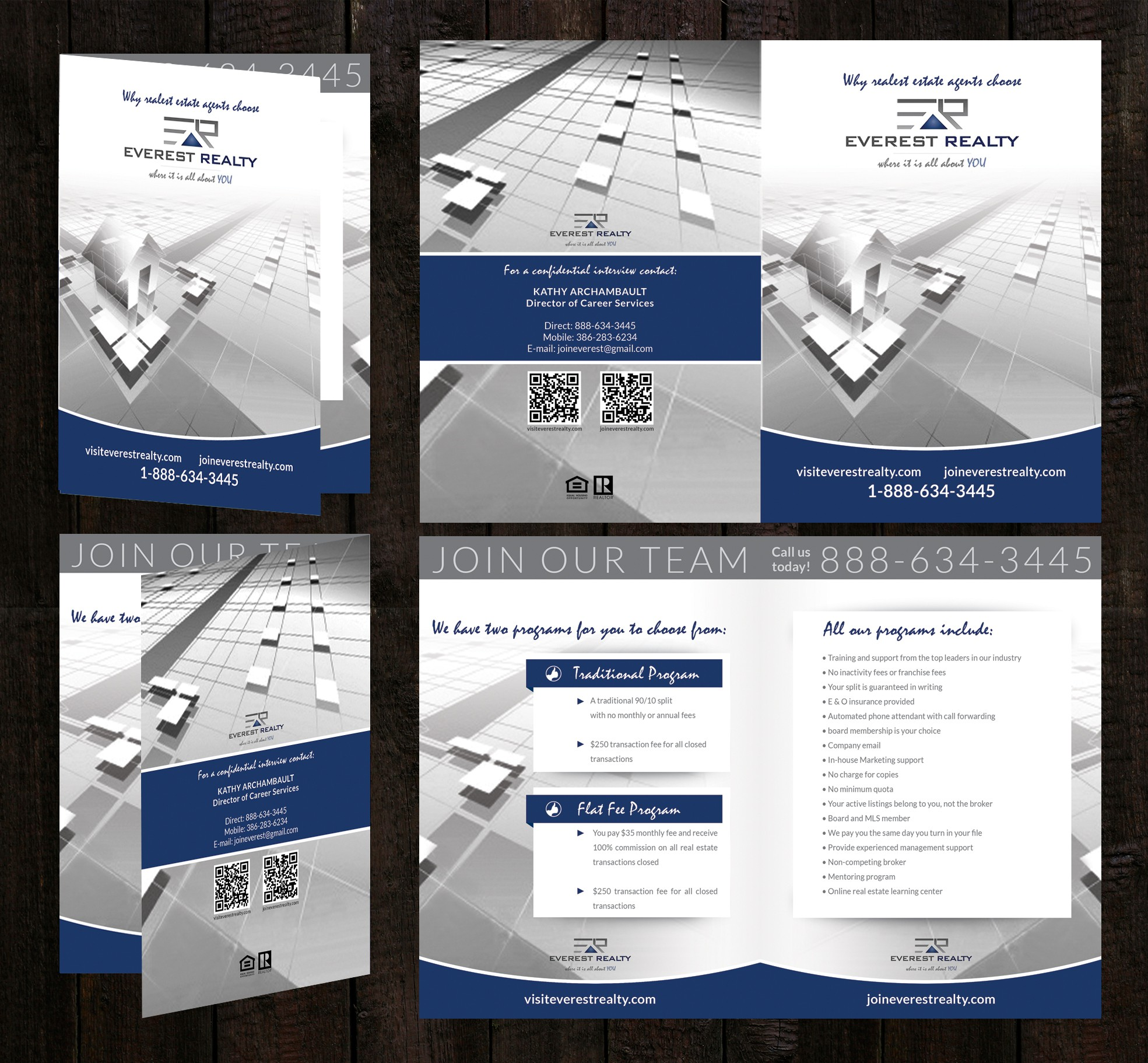 Everest Realty needs a new brochure design