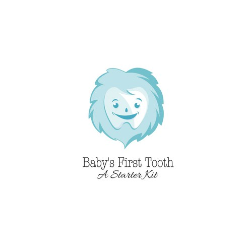 Baby's First Tooth: A Starter Kit Logo
