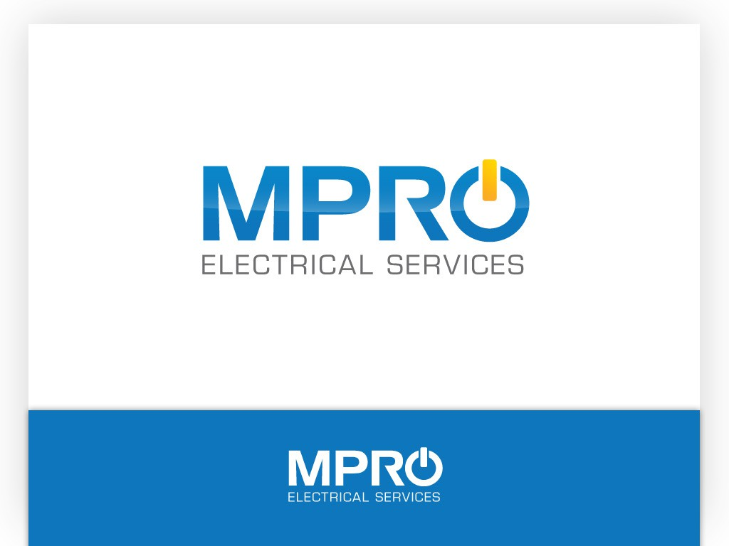 Help MPRO Electrical Services with a new logo