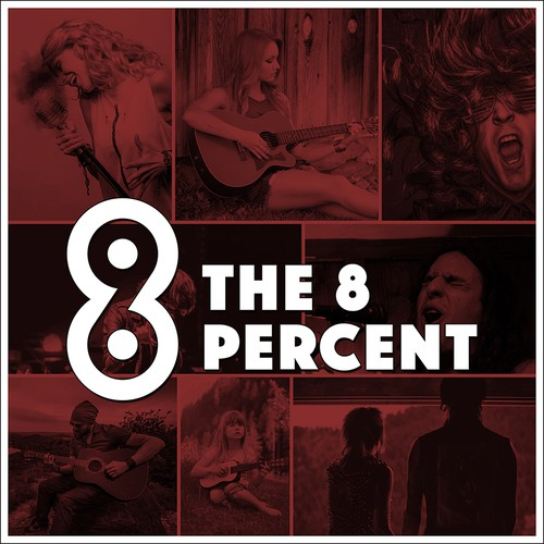 The 8 Percent Podcast Cover Concept