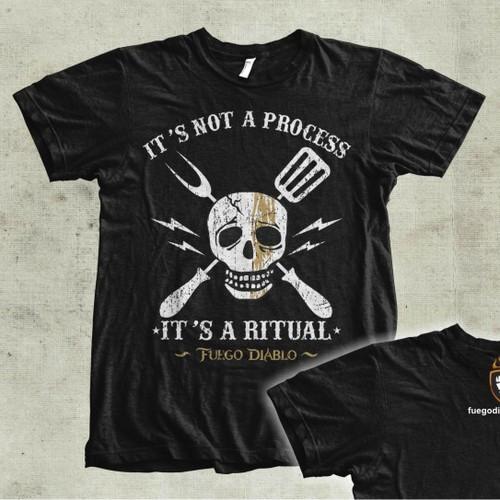 Kick Ass Fuego Diablo T-Shirt - Issue #1