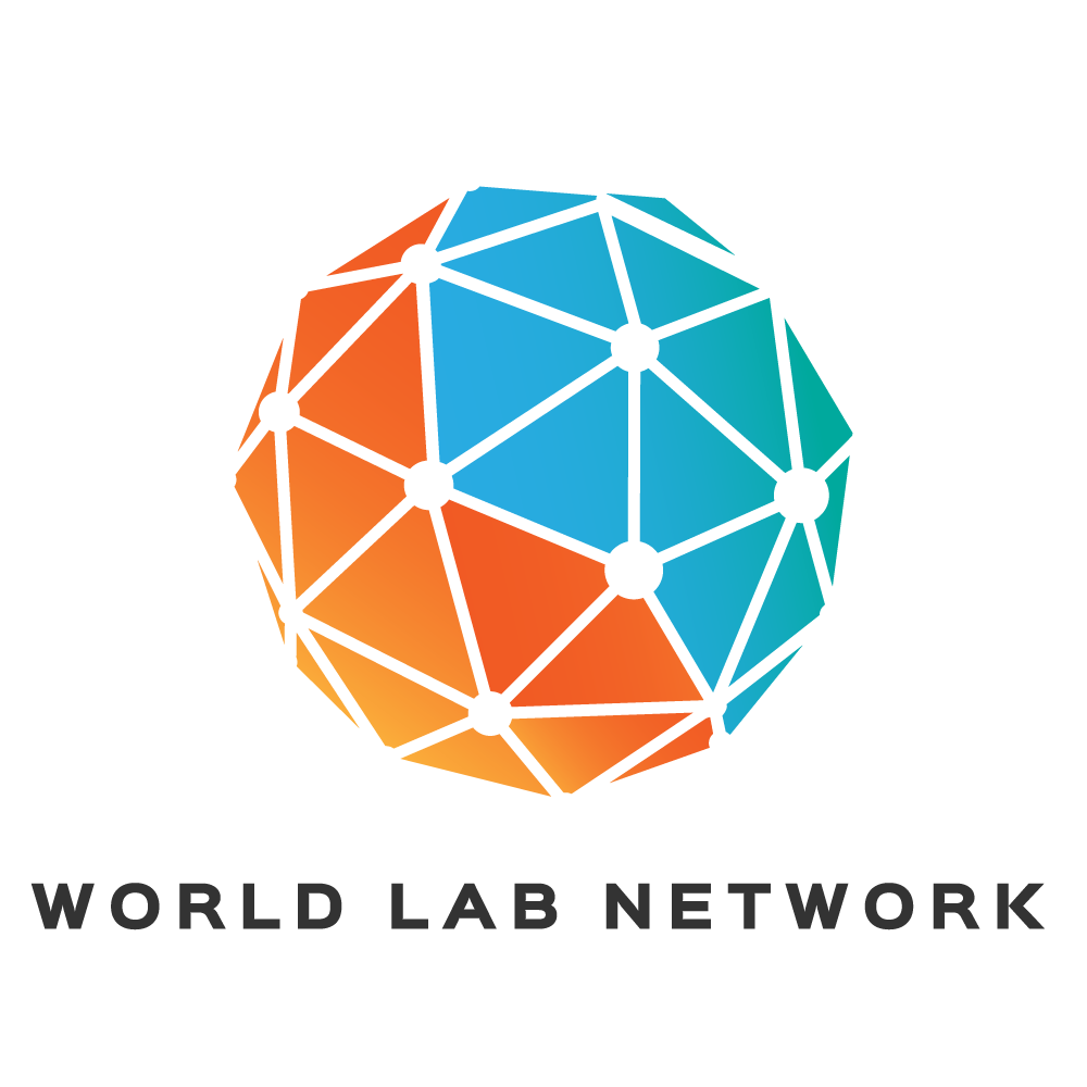 Design a logo for the WORLD LAB NETWORK