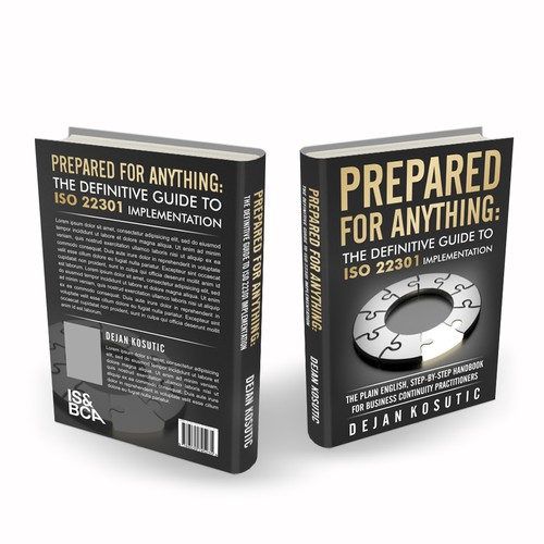 GUARANTEED: Book cover design targeted at business continuity professionals