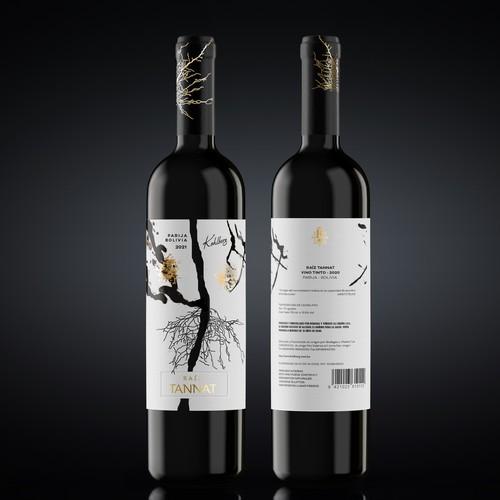 RAIZ TANNAT - Wine Label